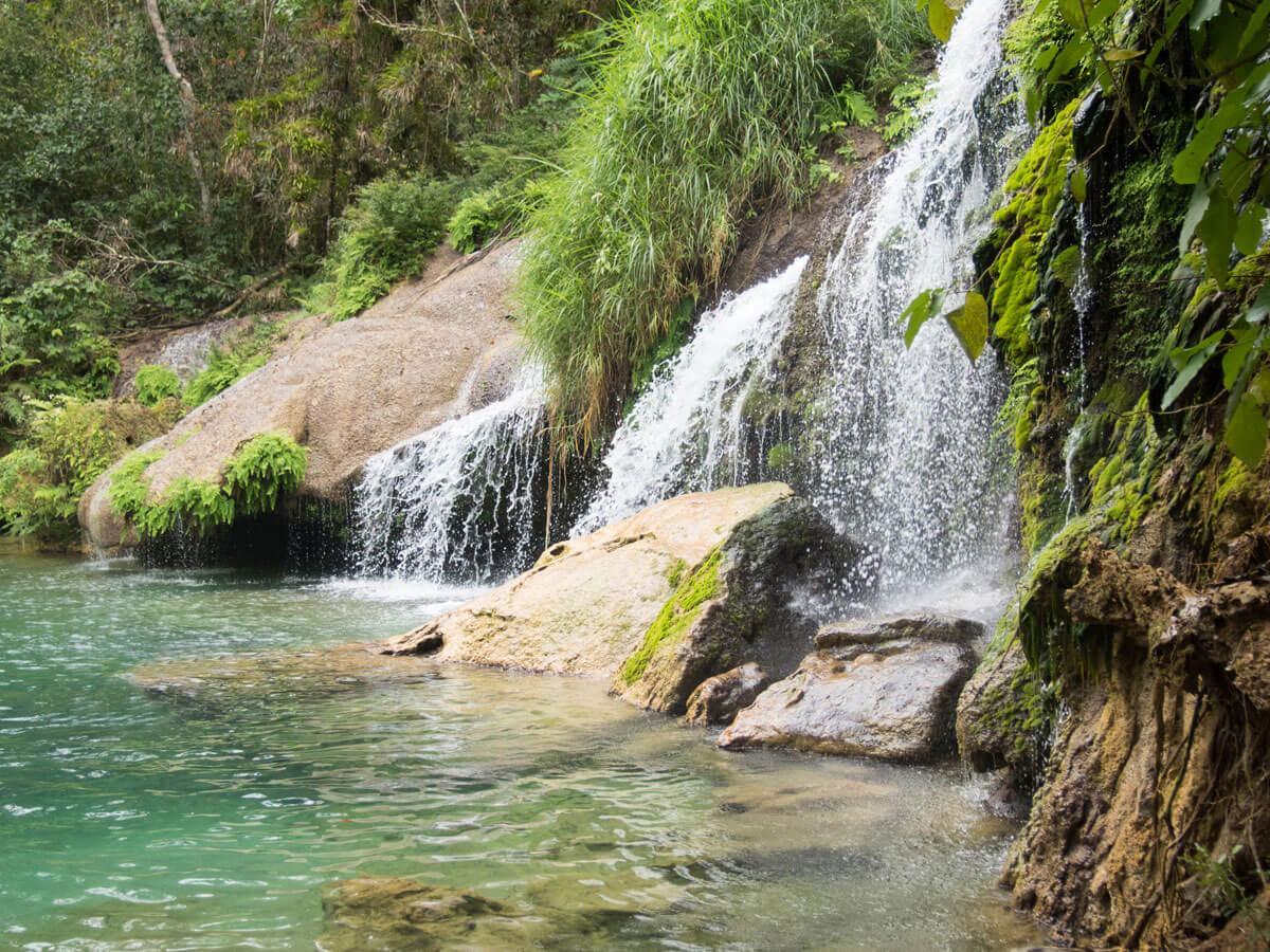 Kuba Wasserfall El Nicho