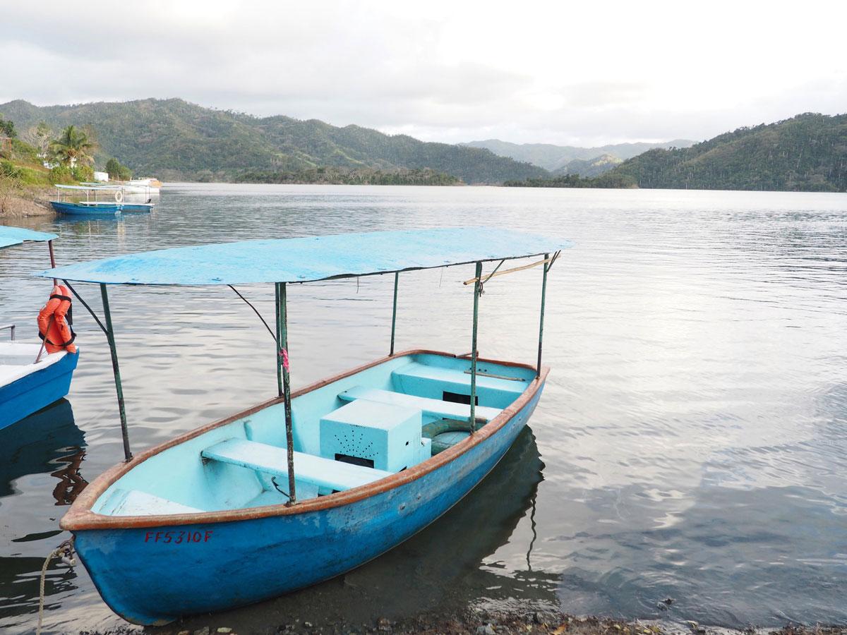 Boot am Hanabanilla See