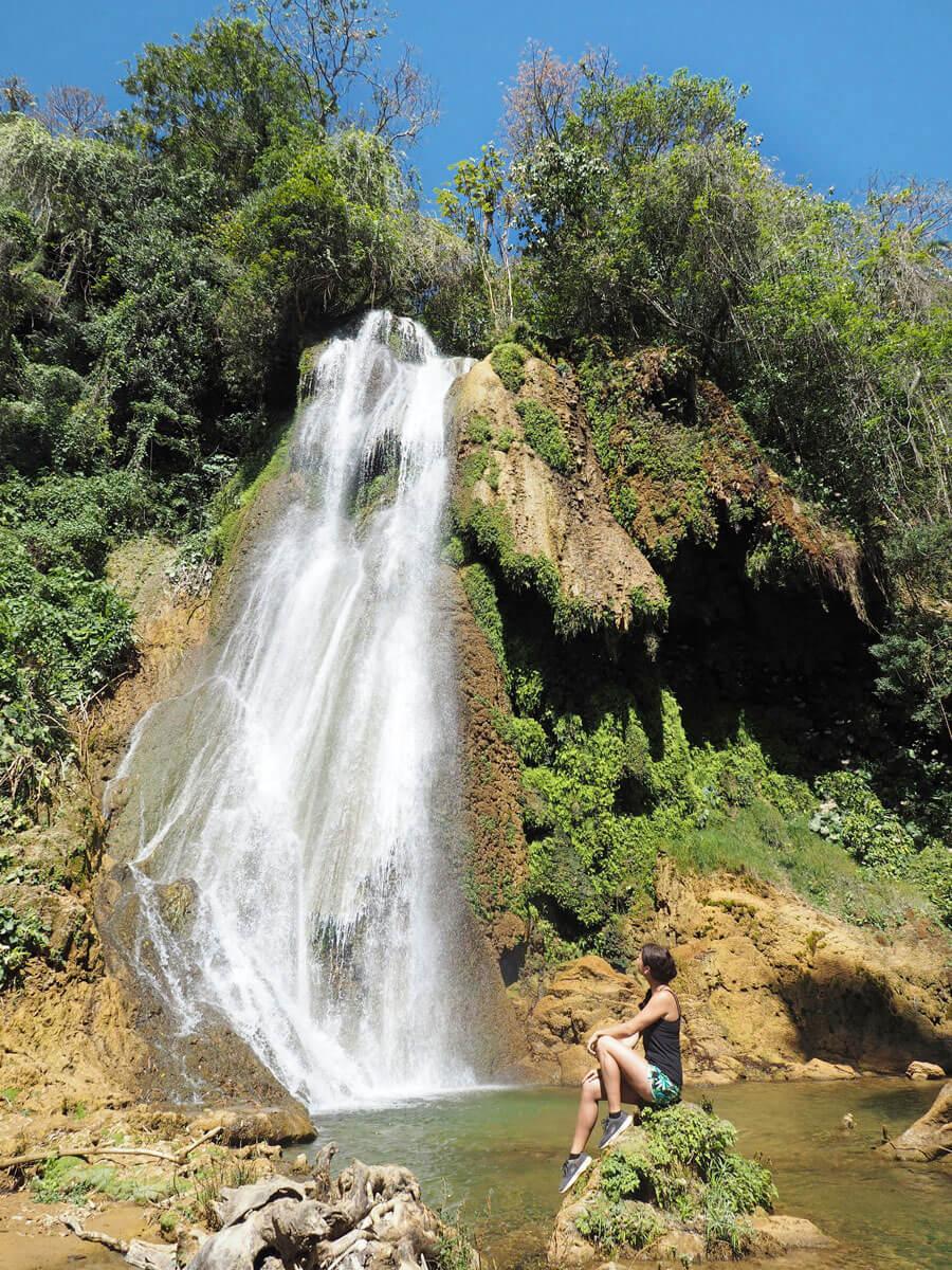 guanayara wasserfall trinidad kuba