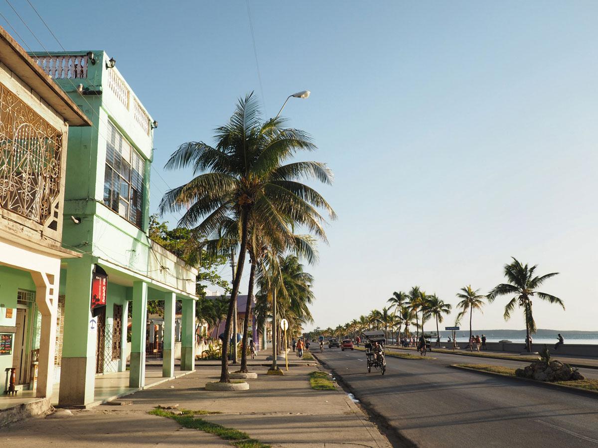 Paseo del Prado Cienfuegos Kuba