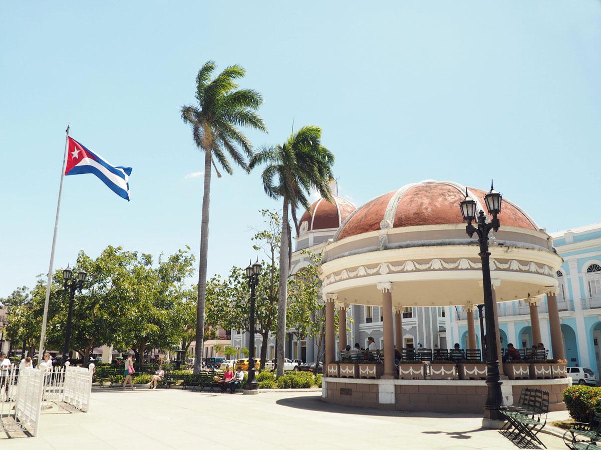 Parque Jose Marti Cienfuegos Kuba