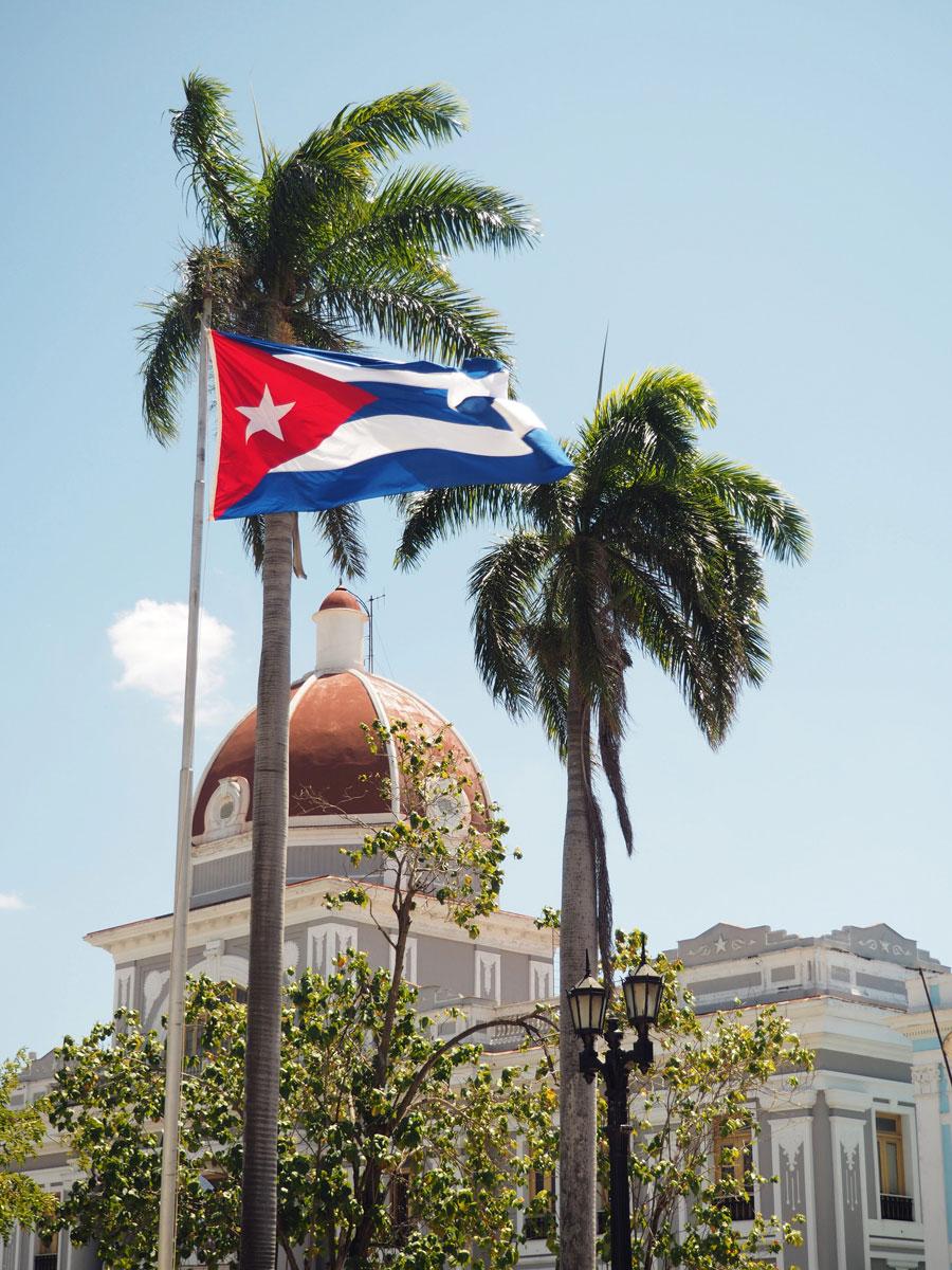 Reiseroute Kuba - Ein kubanisches Haus in Cienfuegos