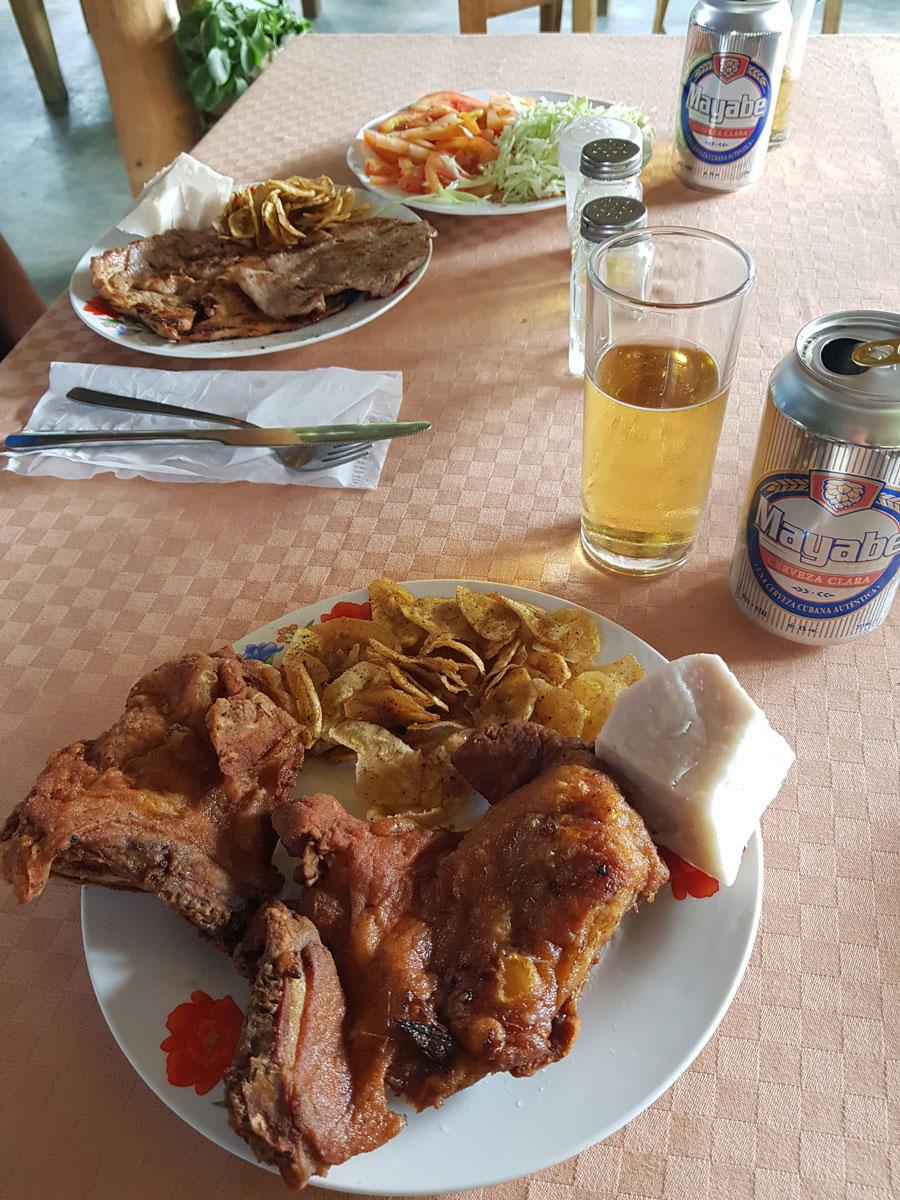 Essen in Kuba