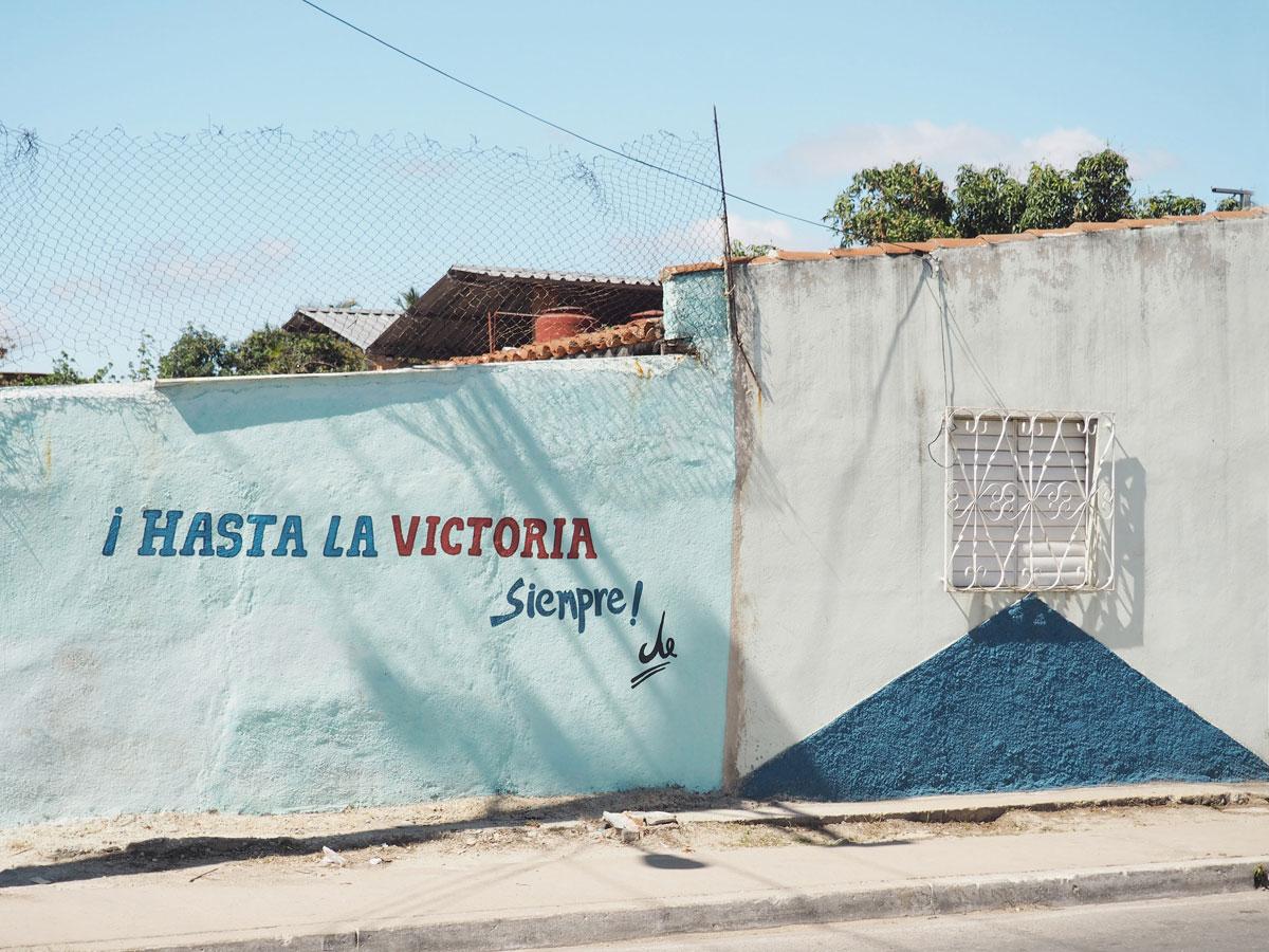 Hasta la victoria sempre Kuba Che Guavara