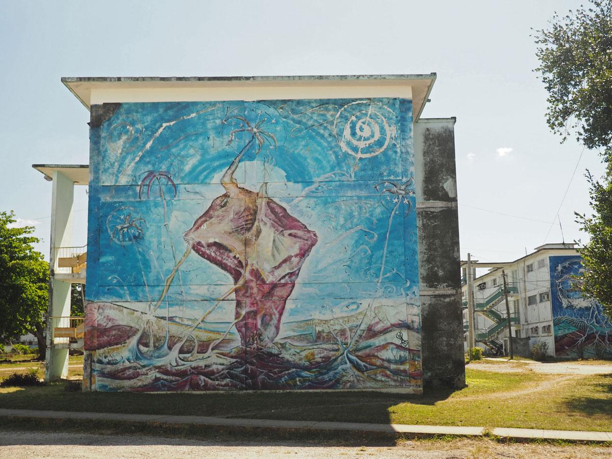Graffiti in Santa Clara Kuba