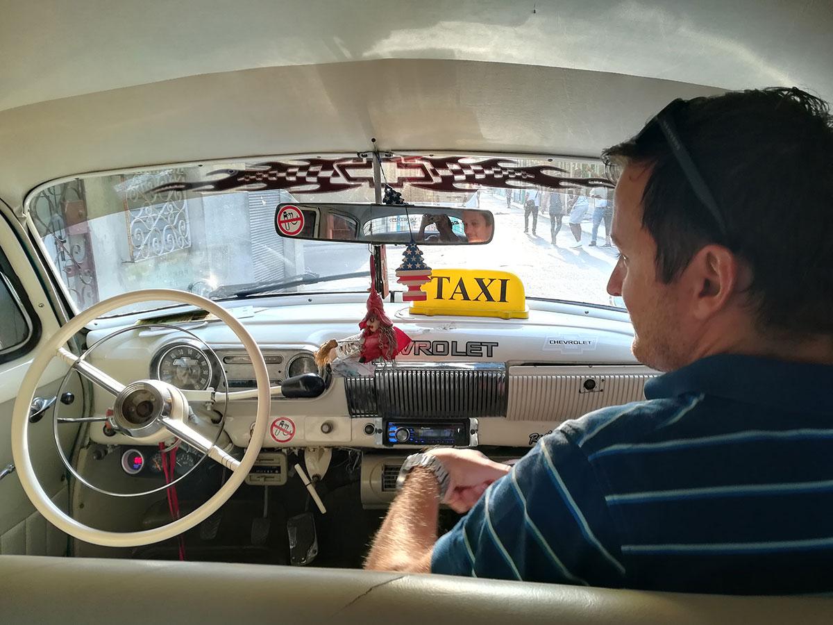 Taxi fahren in Kuba