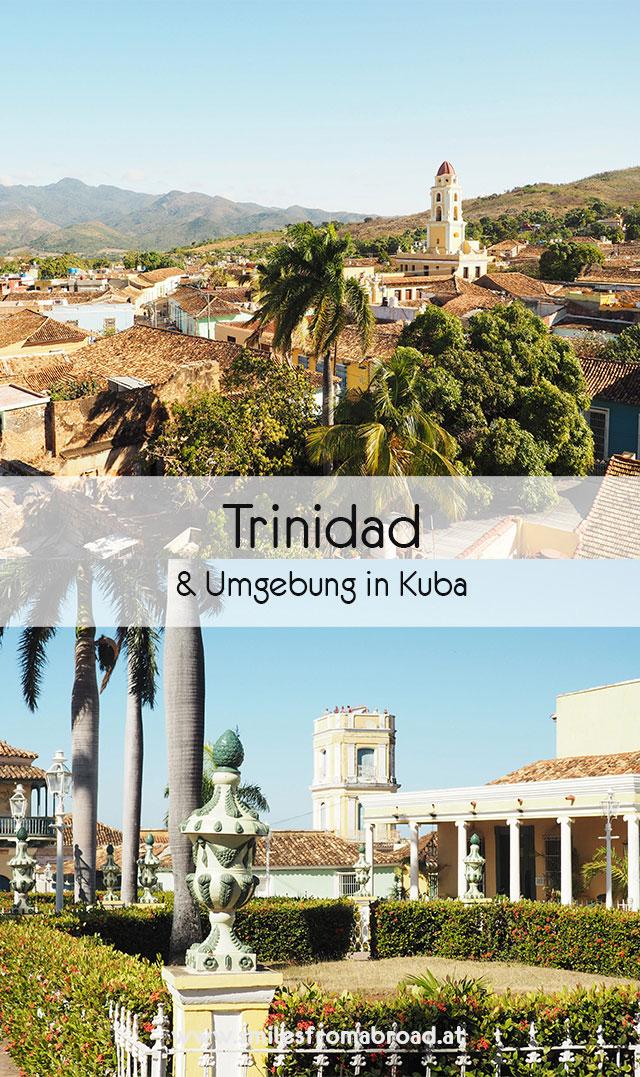 trinidad pinterest2 - Sehenswürdigkeiten in und um Trinidad in Kuba - Ausflug zu den Guanayara Wasserfälle und Playa Ancon