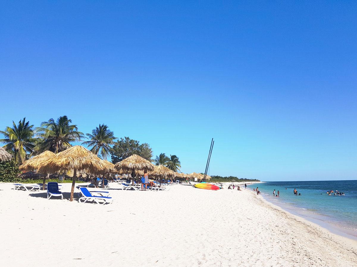 Strand in Trinidad in Kuba