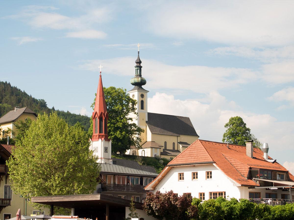 attersee - Der Westwanderweg am Attersee: von Nussdorf bis Stockwinkl