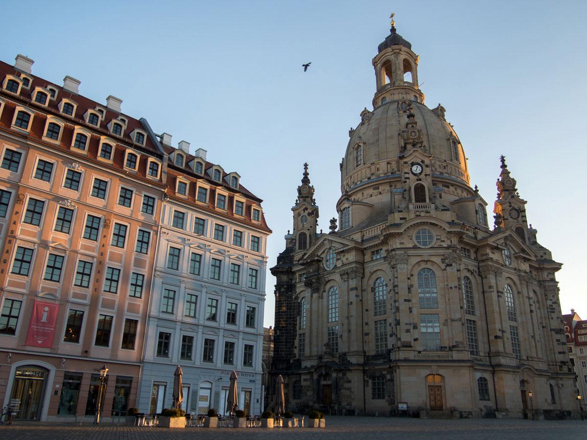 Frauenkirche Neumarkt in Dresden