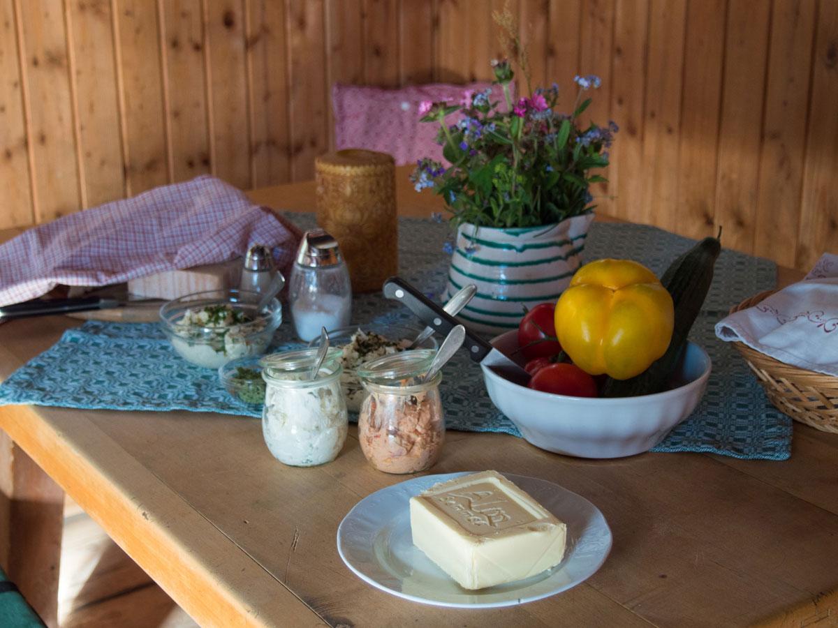 gruberalm fruehstueck 3 - Almsommer - Übernachtung auf der Gruberalm in der Region Fuschlsee Salzkammergut
