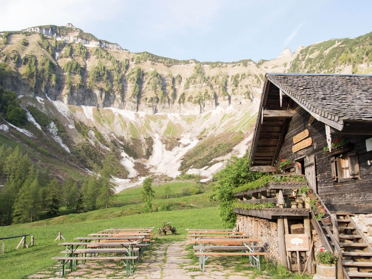 Mayerlehenhütte Gruberalm Salzburg