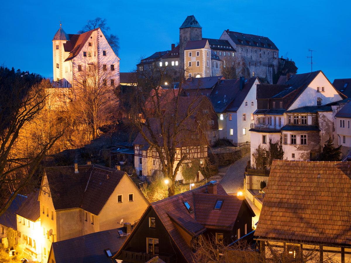 Burg Hohnstein Sächsische Schweiz Deutschland