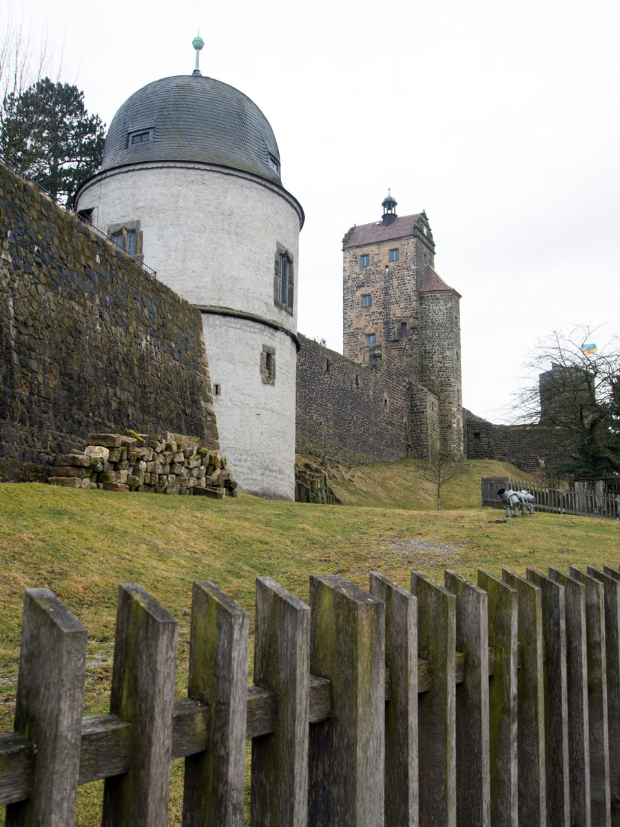 Burg Stolpen Sächsische Schweiz Deutschland