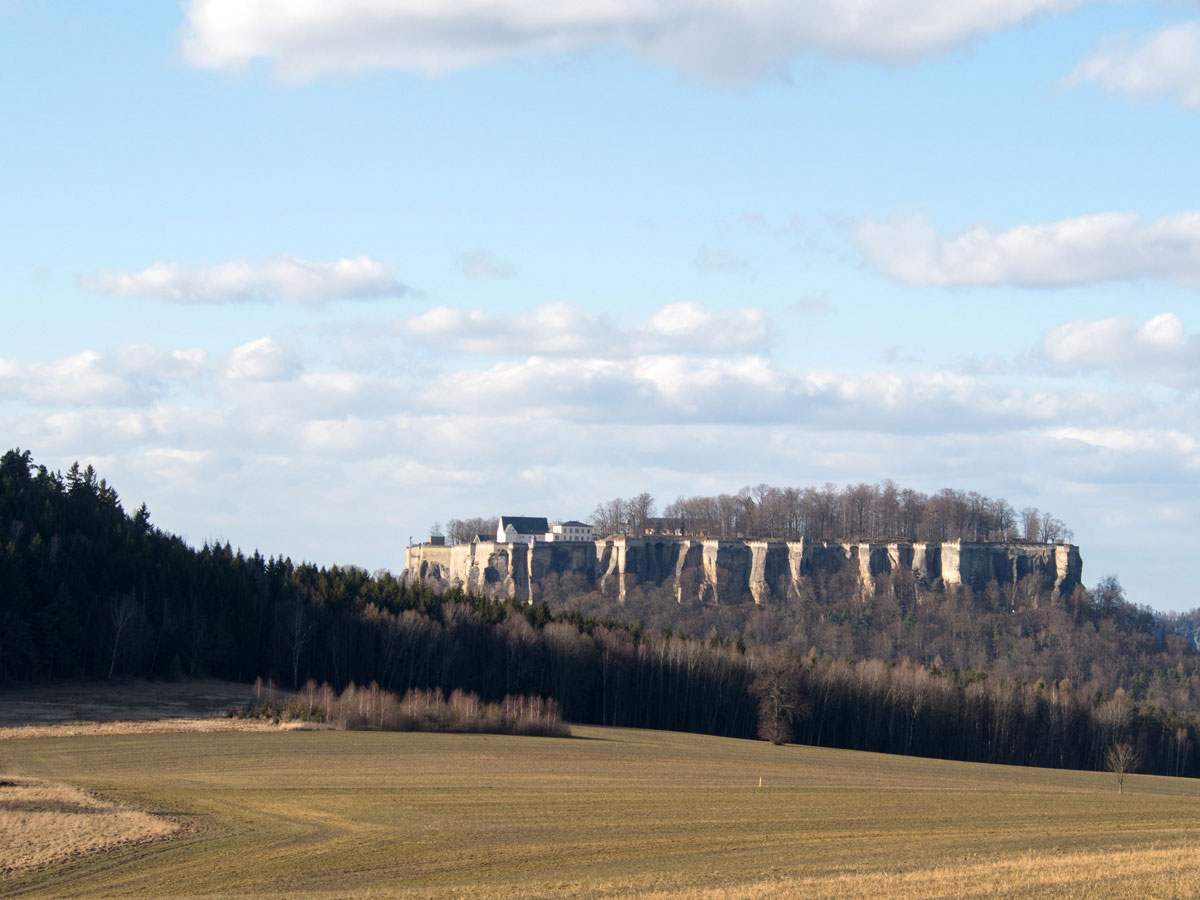 Königsstein Sächsische Schweiz Deutschland