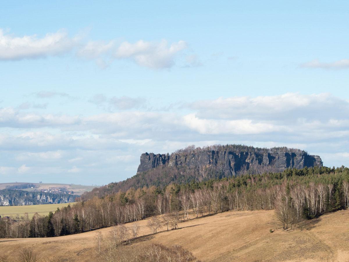 Lilienstein Ausflugsziel sächsische Schweiz deutschland