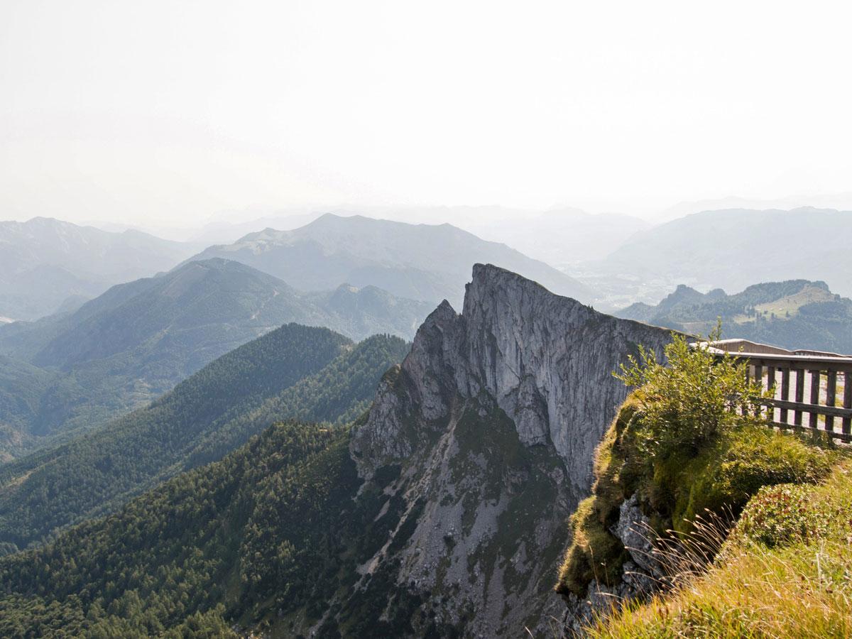 Ausblick vom Schafberg Gipfel