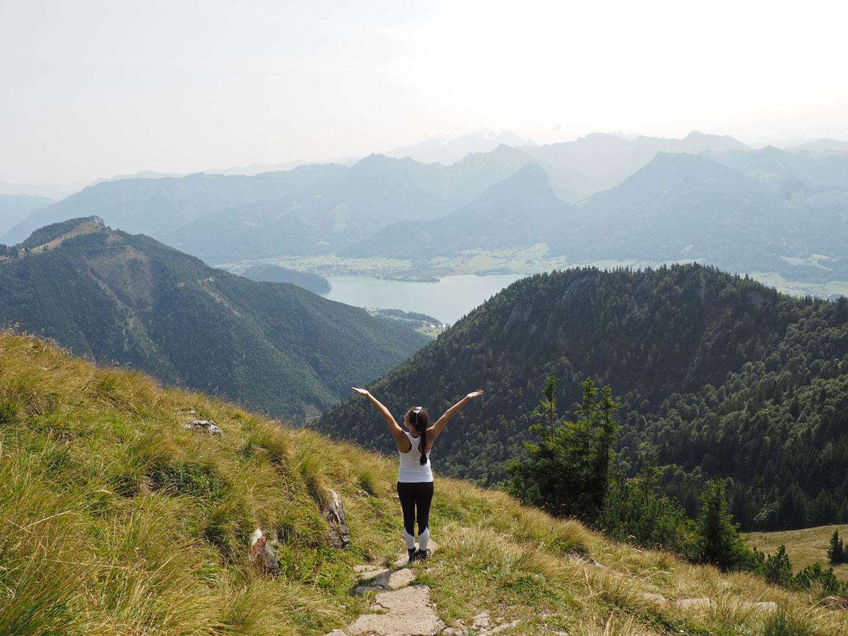 schafberg wandern 28 - Wandern auf den Schafberg beim Wolfgangsee