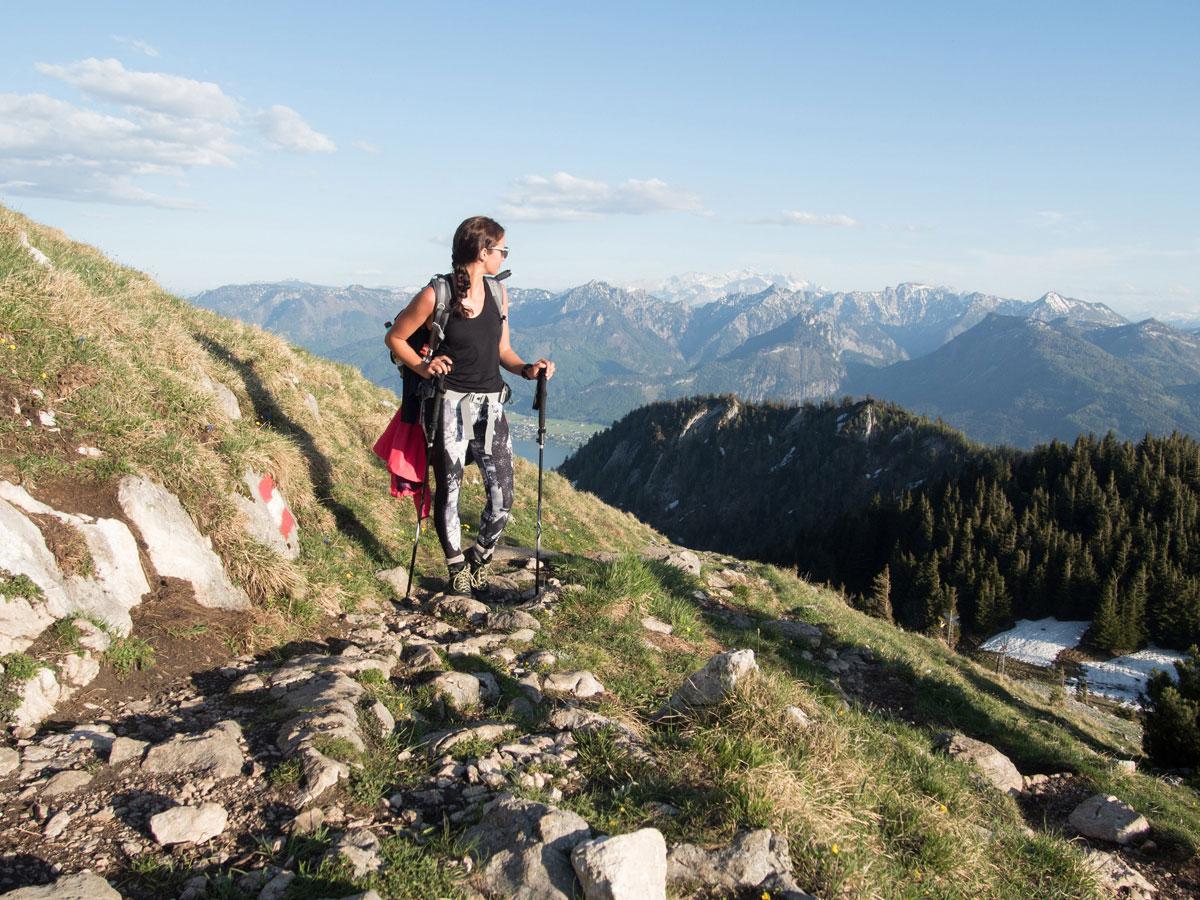 Wandern auf den Schafberg am Wolfgangsee