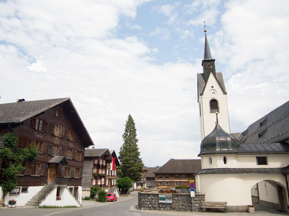 Häuser im Bregenzerwald Vorarlberg