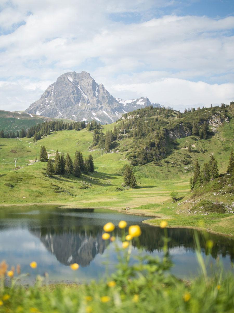 Körbersee Vorarlberg Österreich