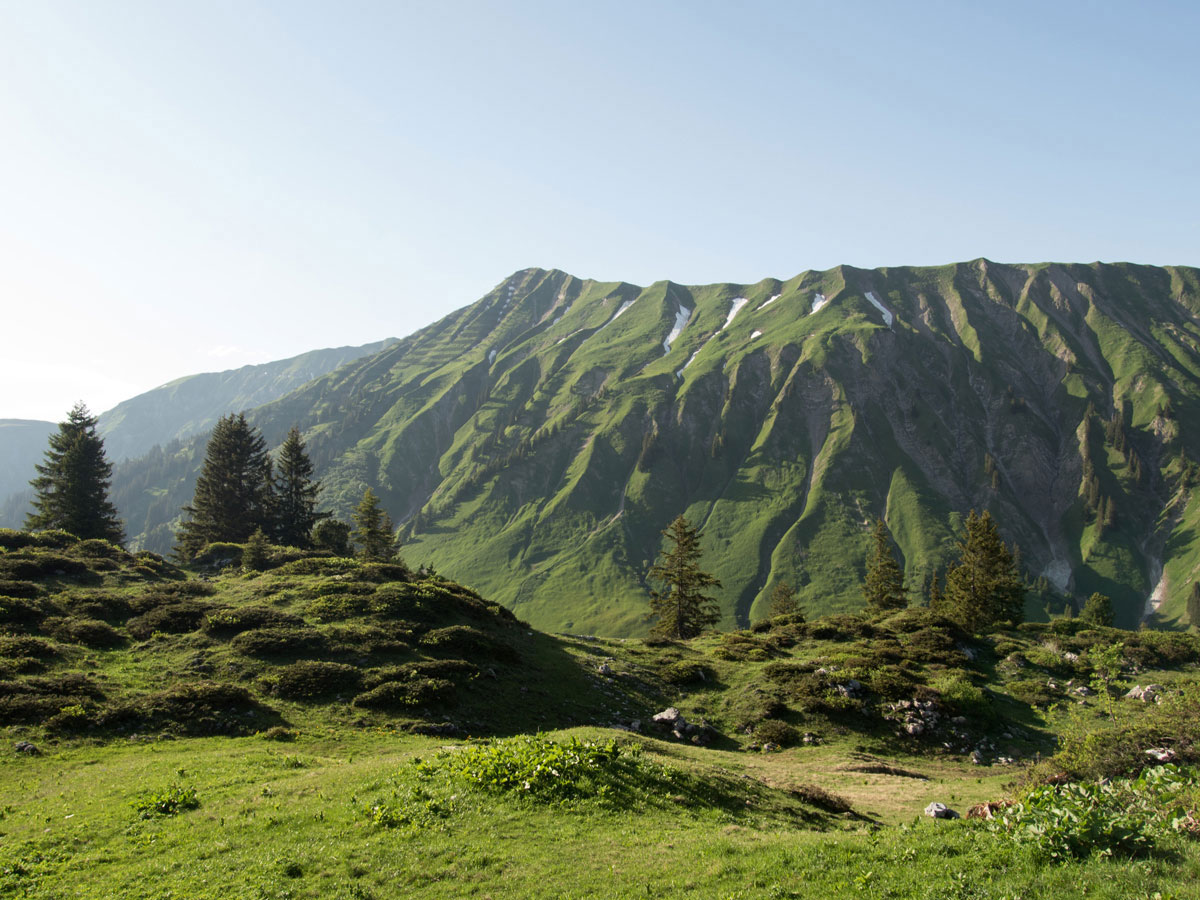 Körbersee Vorarlberg Österreich Wandern