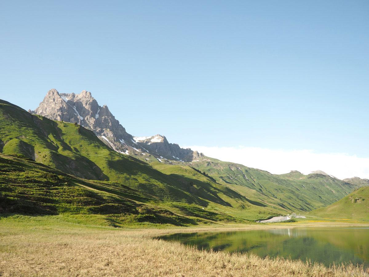 Körbersee Vorarlberg wandern