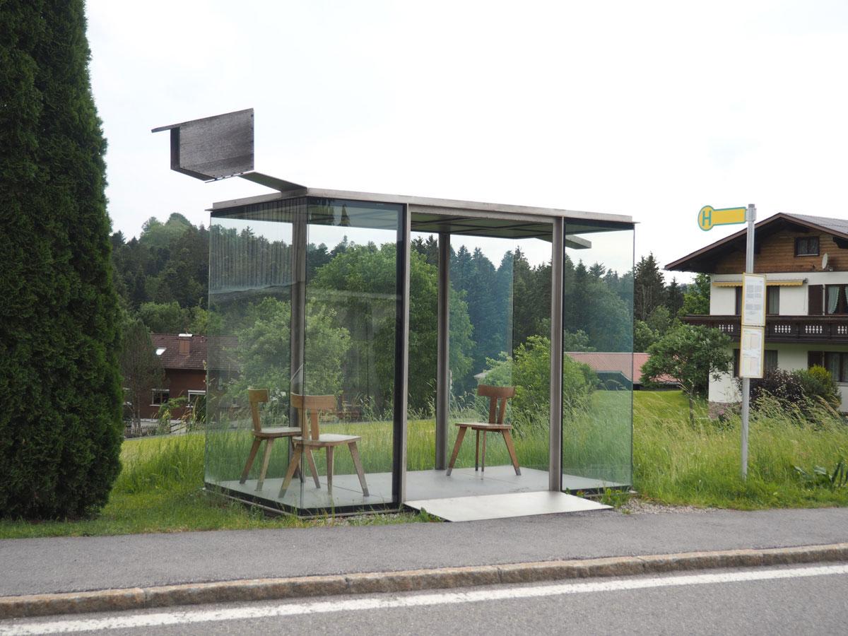 Bushaltestellen in Krumbach Bregenzerwald