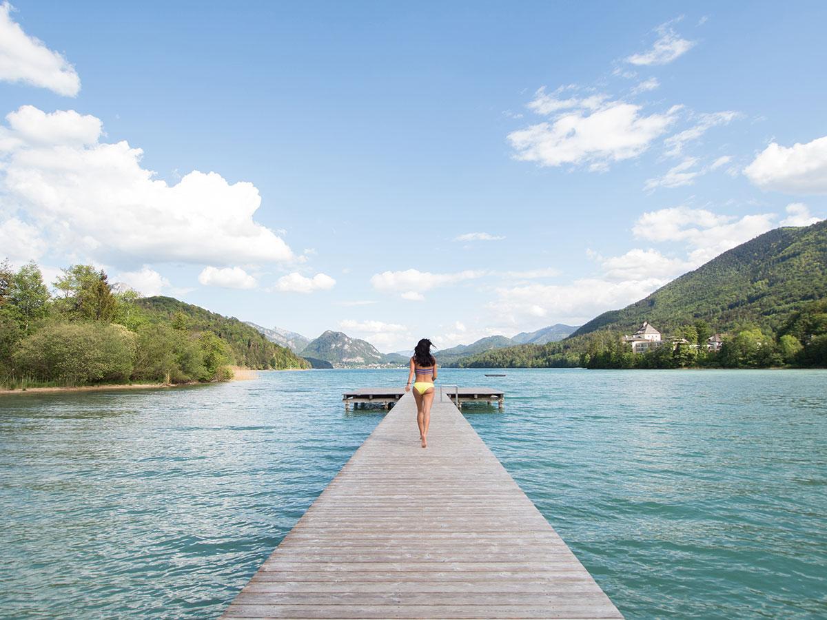 fuschlsee naturbad - Meine 5 Lieblings Fotospots auf Reisen - Blogparade