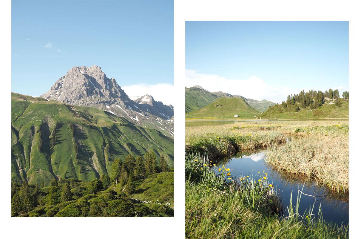 Körbersee - schönster Ort Österreichs in Vorarlberg