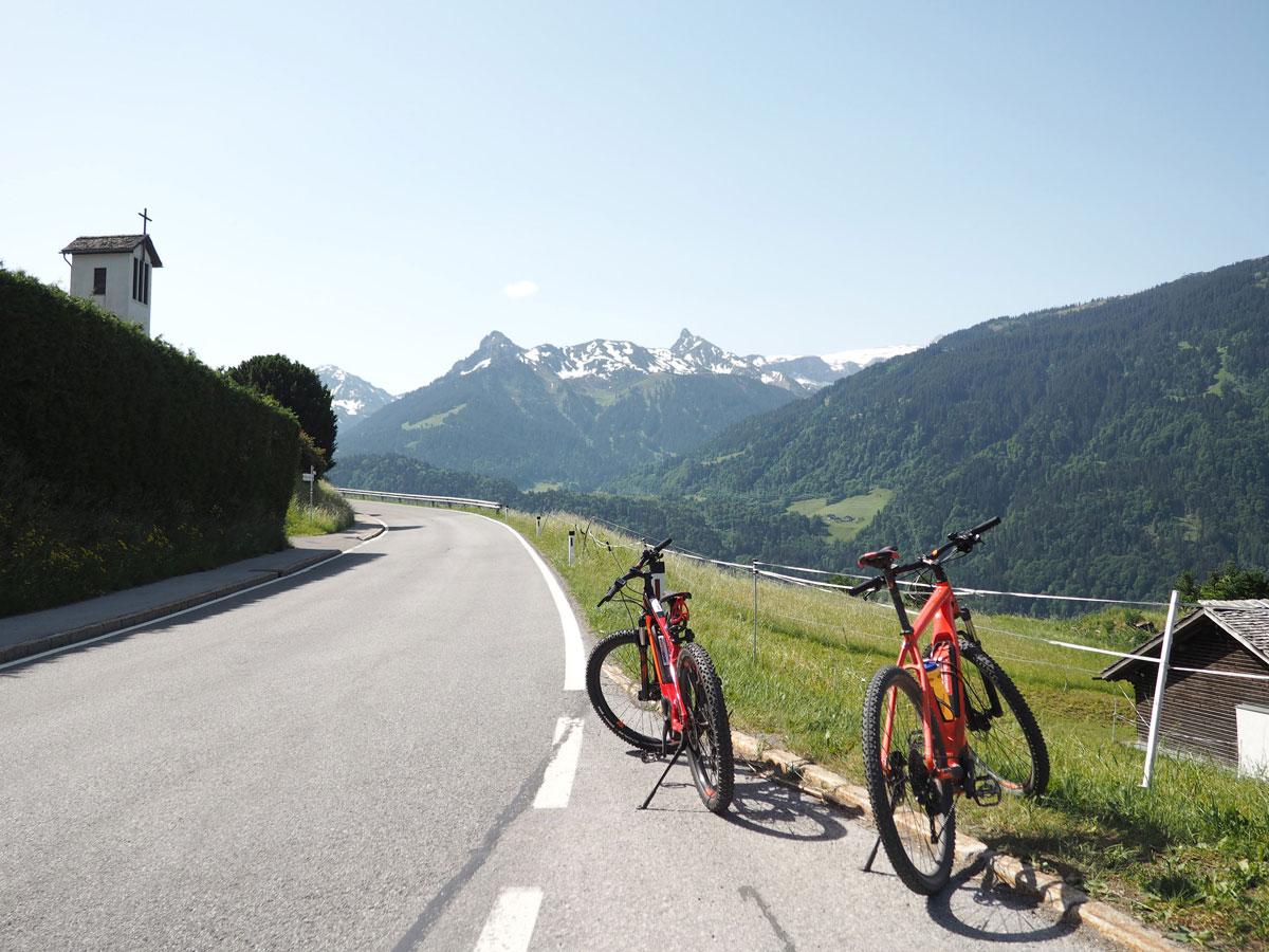 Österreich Montafon in Vorarlberg