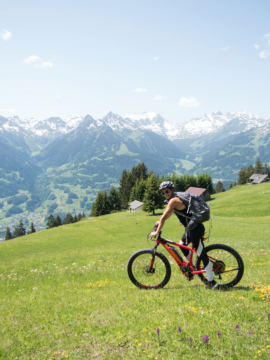 Mountainbike Tour Montafon in Vorarlberg