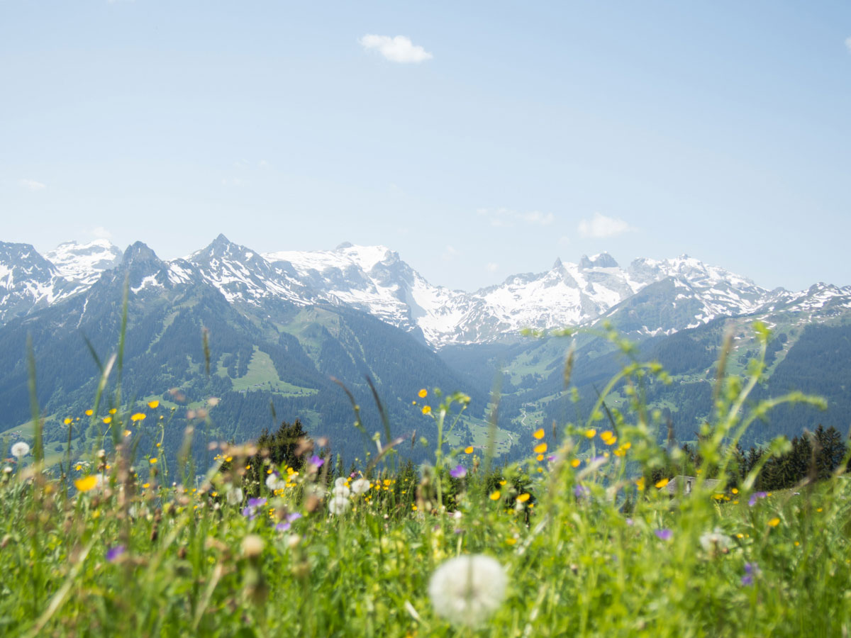 Montafon in Vorarlberg