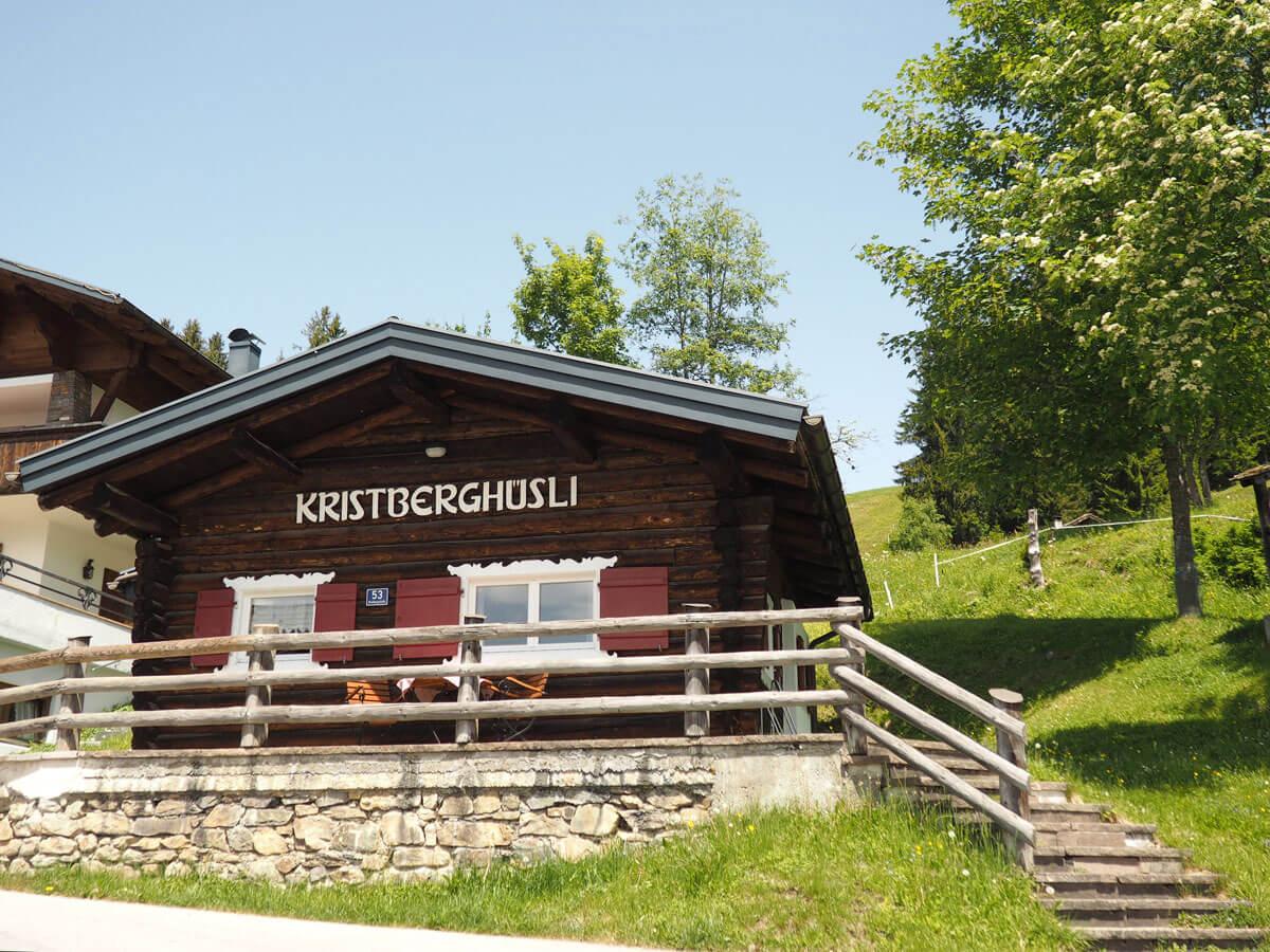 Kristberghüsli Montafon in Vorarlberg