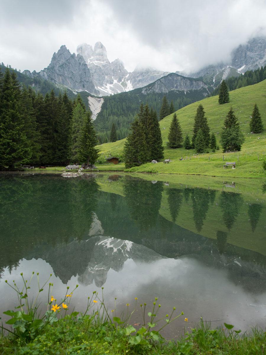 Bischofsmütze Salzburger land