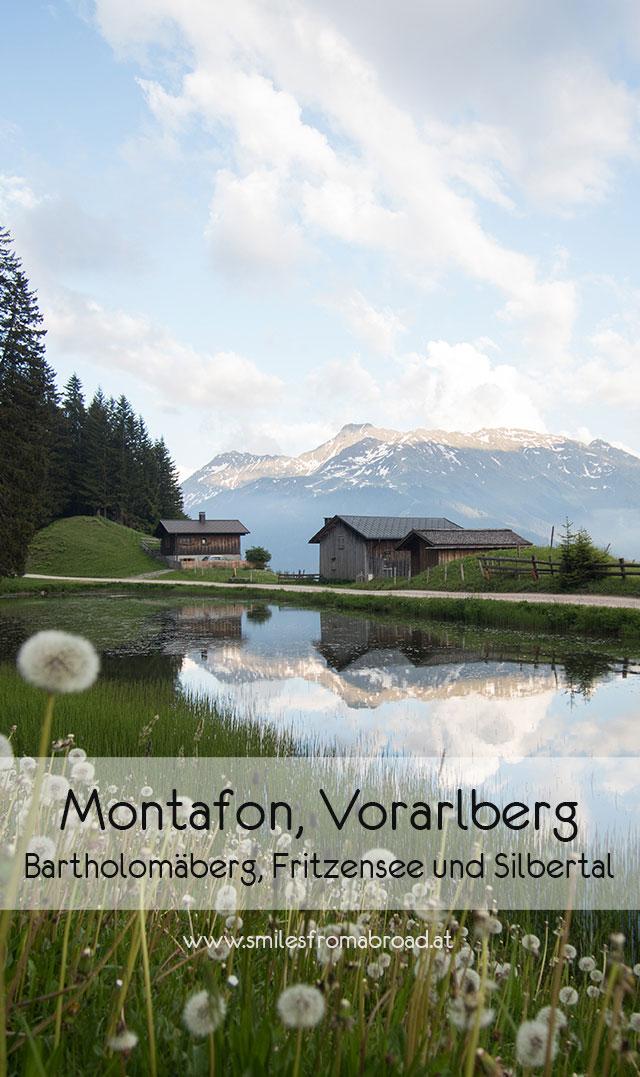 montafon pinterest1 - Montafon in Vorarlberg entdecken - Von Bartholomäberg über den Fritzensee bis ins Silbertal