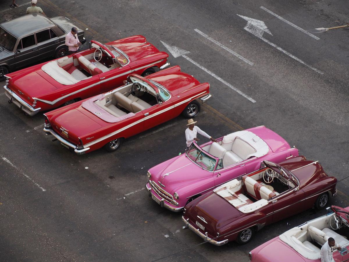Havanna Sehenswertes Oldtimer