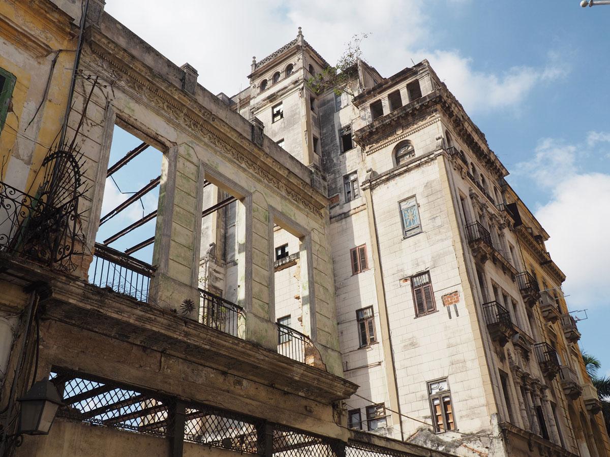 Havanna kaputtes Haus