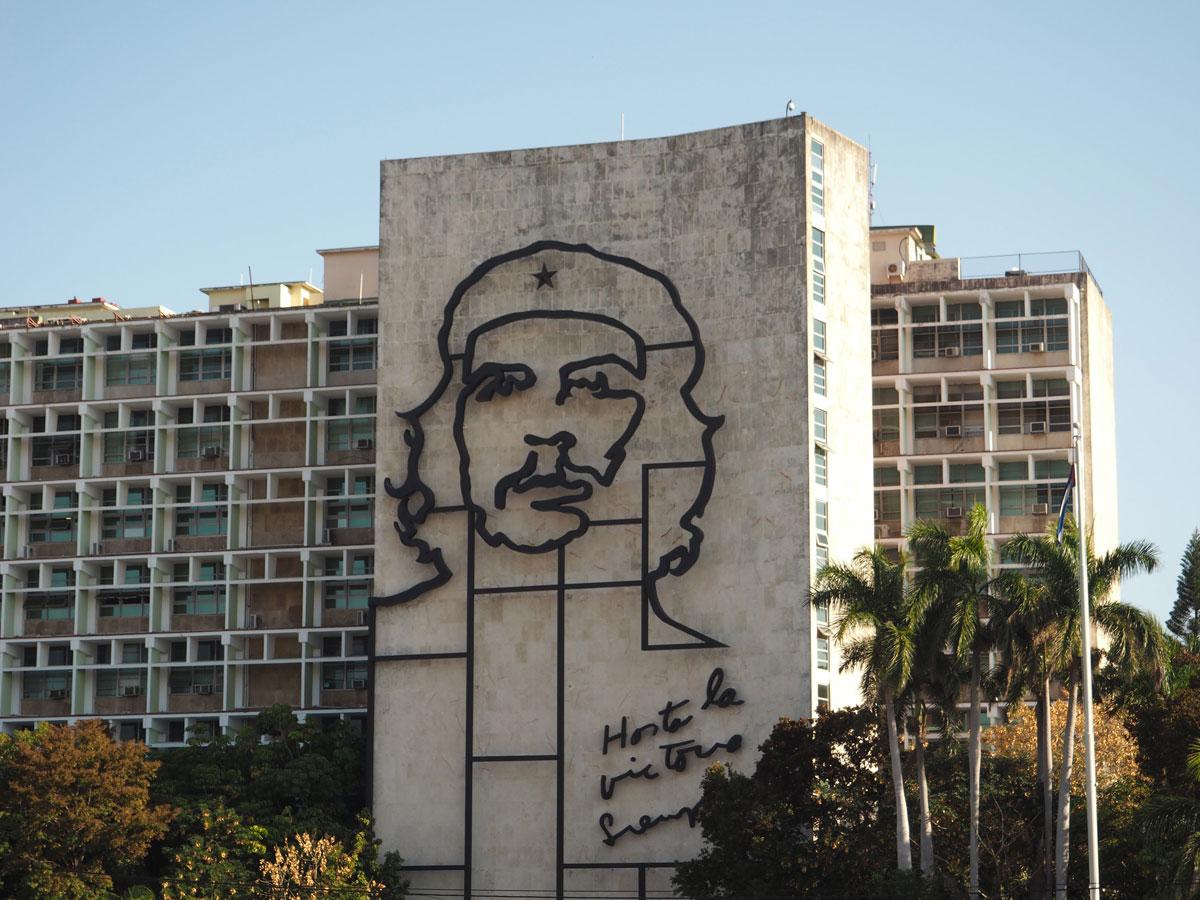 Havanna Sehenswertes Plaza de la revolucion