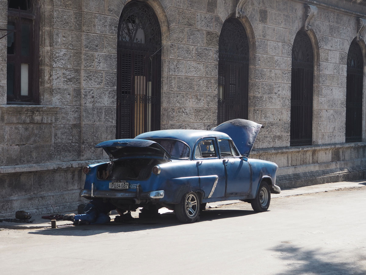 Havanna Leben der Einheimischen