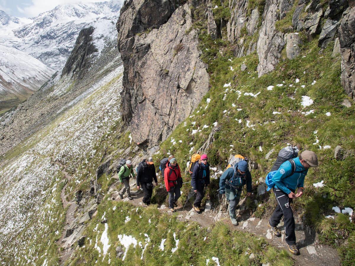 Cottbusser Höhenweg Pitztal