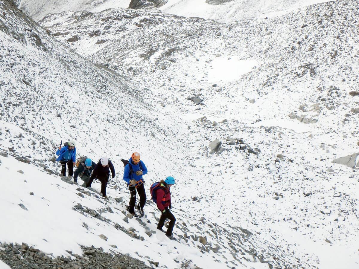02pitztal verpeilspitze 1 - (Deutsch) Hochalpine Tour von der Kaunergrathütte auf die Verpeilspitze