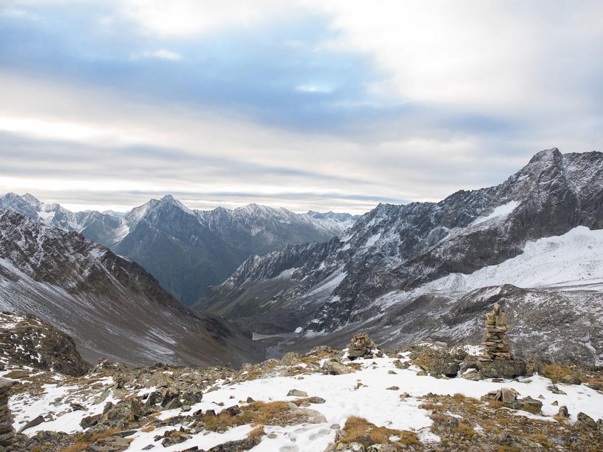 02pitztal verpeilspitze 13 - (Deutsch) Hochalpine Tour von der Kaunergrathütte auf die Verpeilspitze