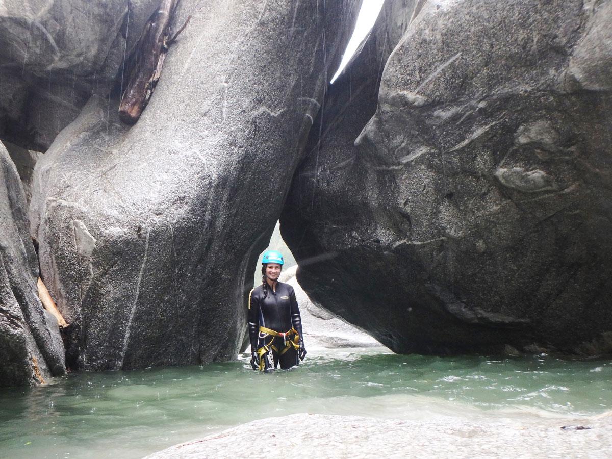 canyoning zillertal 10 - Highlights im Zillertal - auch bei Schlechtwetter
