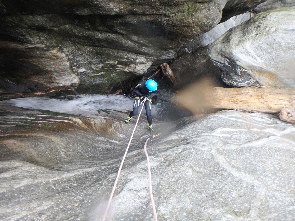 Canyoning im Zillertal in Tirol