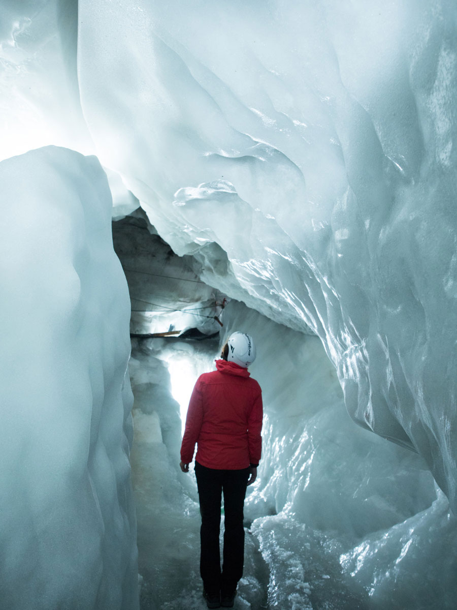 Hintertuxer Gletscher, Eispalast