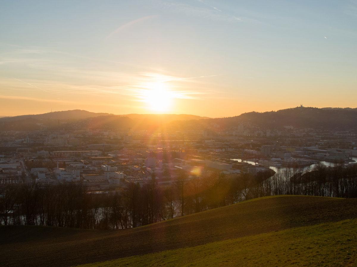 pfenningberg linz wandern 3 - 6 Wander- und Trailrunning Strecken in Linz, Oberösterreich