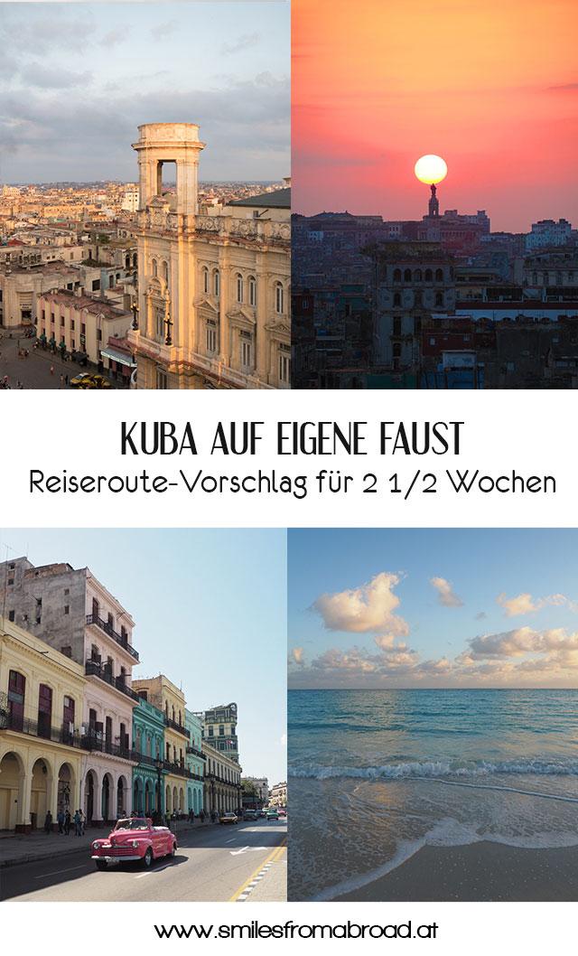 pinterest kuba reiseroute - Reiseroute und was kostet eine Reise nach Kuba