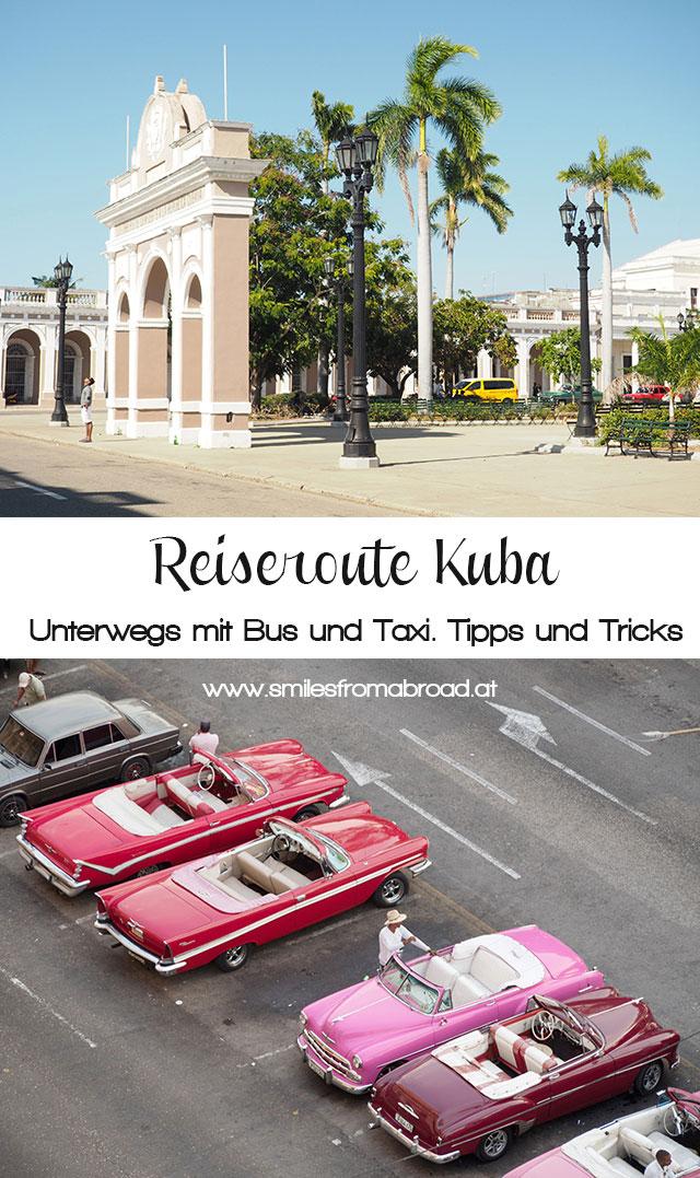 pinterest kuba reiseroute2 - Reiseroute und was kostet eine Reise nach Kuba
