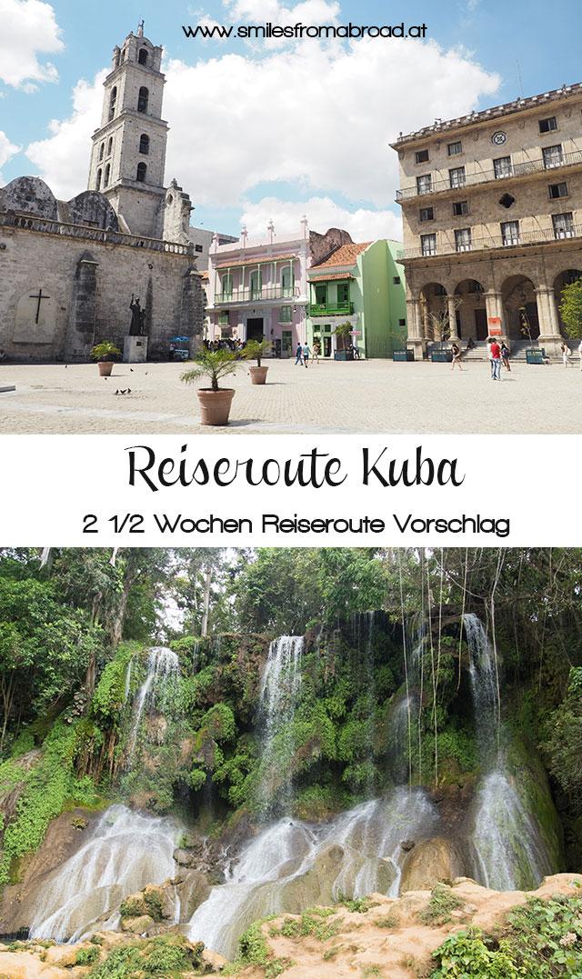 pinterest kuba reiseroute3 - Reiseroute und was kostet eine Reise nach Kuba